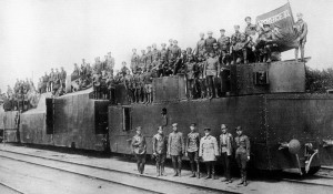 Личный состав бронепоезда №12, 1919.