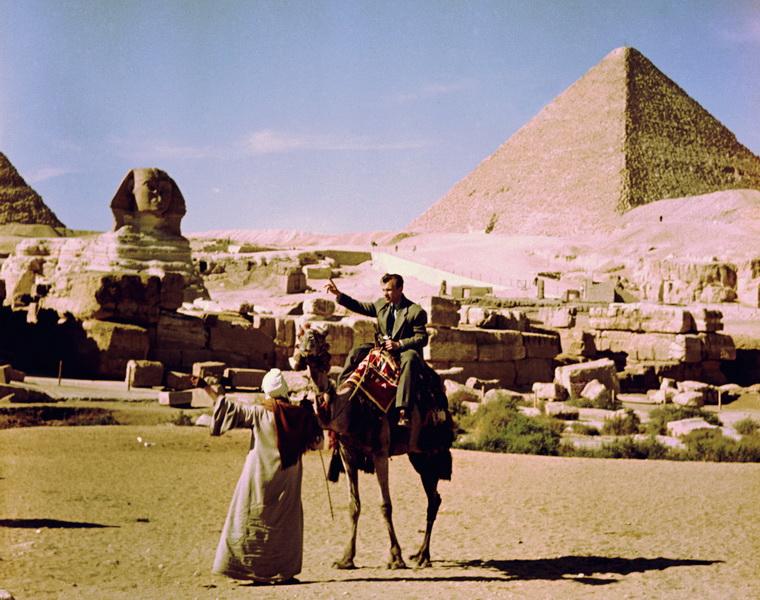 Н.И.Драчинский в Египте
