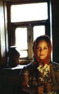 Крестьяночка. Ярославская обл., дер.Студенец, 1985