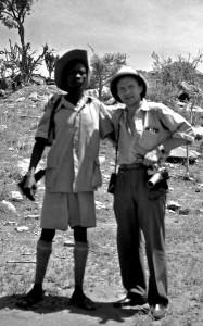 Н.Драчинский в Судане, 1957г.