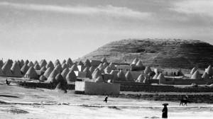 селение по дороге в Халеб