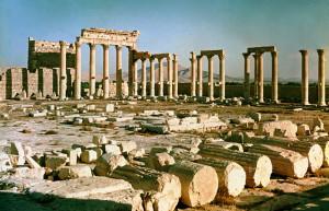 Пальмира. руины