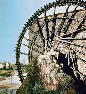 Оросительные колеса-нории