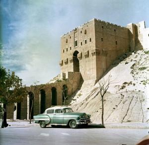 старинная крепость в Халебе