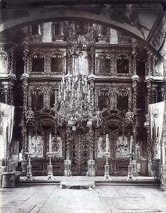 Ростов Великий. Иконостас Богоявленского собора