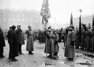работники просвещения - шефы Петроградского военного округа, 1923 год
