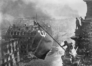 Знамя Победы над Рейхстагом, 1945г