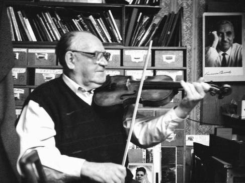 Е.А.Халдей у себя дома, 1996г