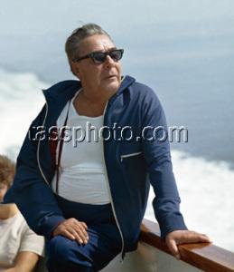 Леонид Ильич Брежнев во время отдыха