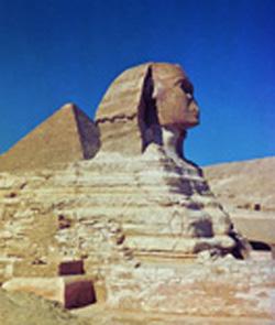 В стране пирамид. Сфинкс