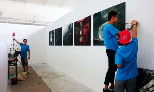 DSC_0733 фотографический фестиваль развешивают фотографии