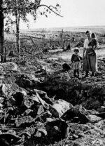 Калининский фронт, 1943г.Без крова