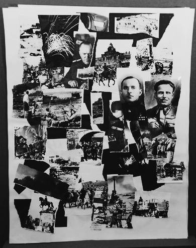 Великая Отечественная война. Фотоколлаж Анатолий Семенов